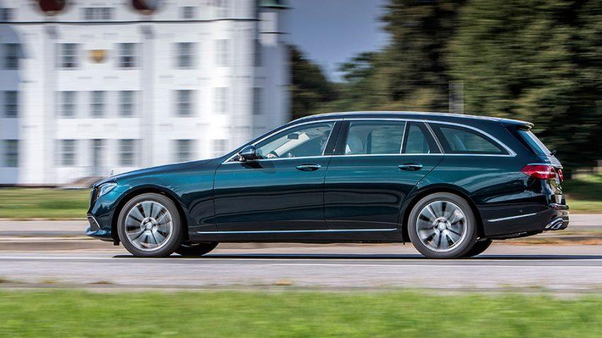 Mercedes-Benz E-Klasse T-Modell: Heckwärts