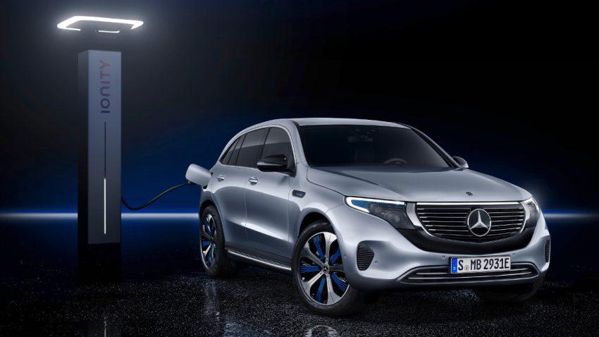 Weltpremiere Mercedes EQC: Das ist Mercedes' erstes Elektro-SUV