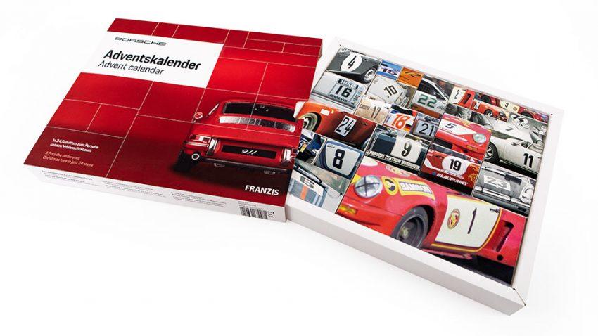 Gewinne einen Porsche Adventskalender