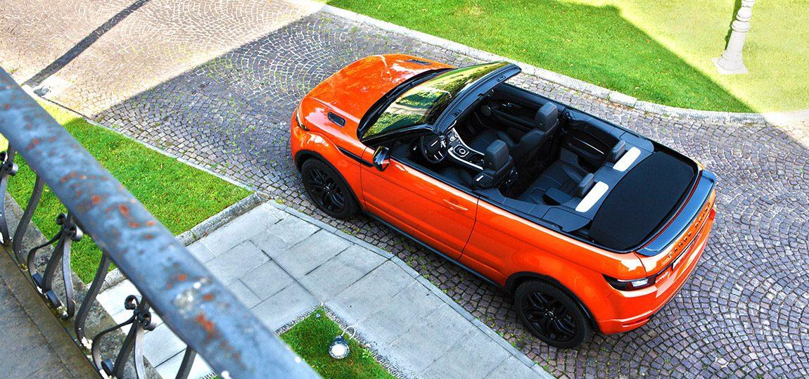 Range Rover Evoque Cabrio: Uhrwerk Orange