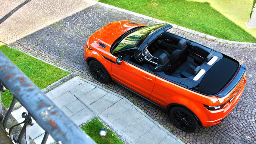 Range Rover Evoque Cabrio: Uhrwerk Orange
