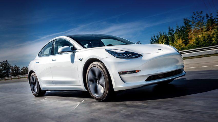 Das Tesla Model 3 im 1. Test