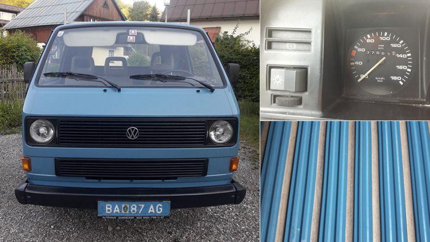 VW T3 245 Pritsche (verkauft)