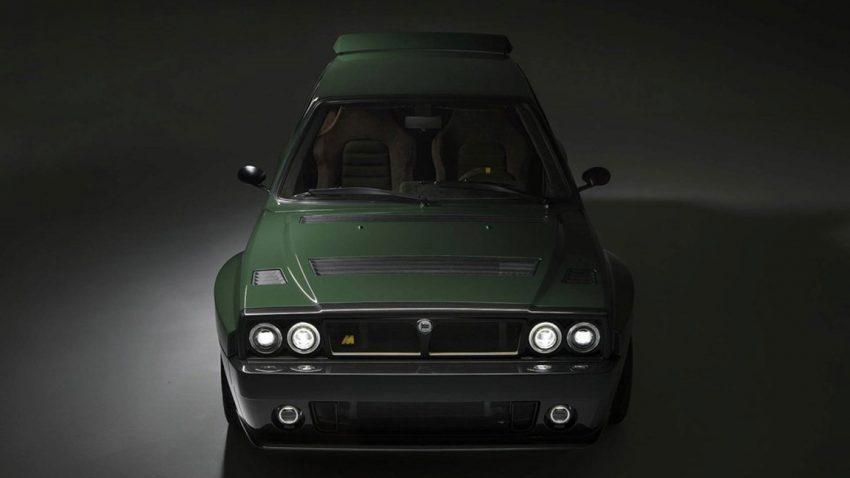 Lancia Delta Integrale Futurista: Ein Integrale, (fast) neu erfunden