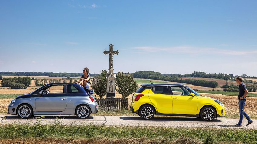 Abarth 695C Rivale vs. Suzuki Swift Sport
