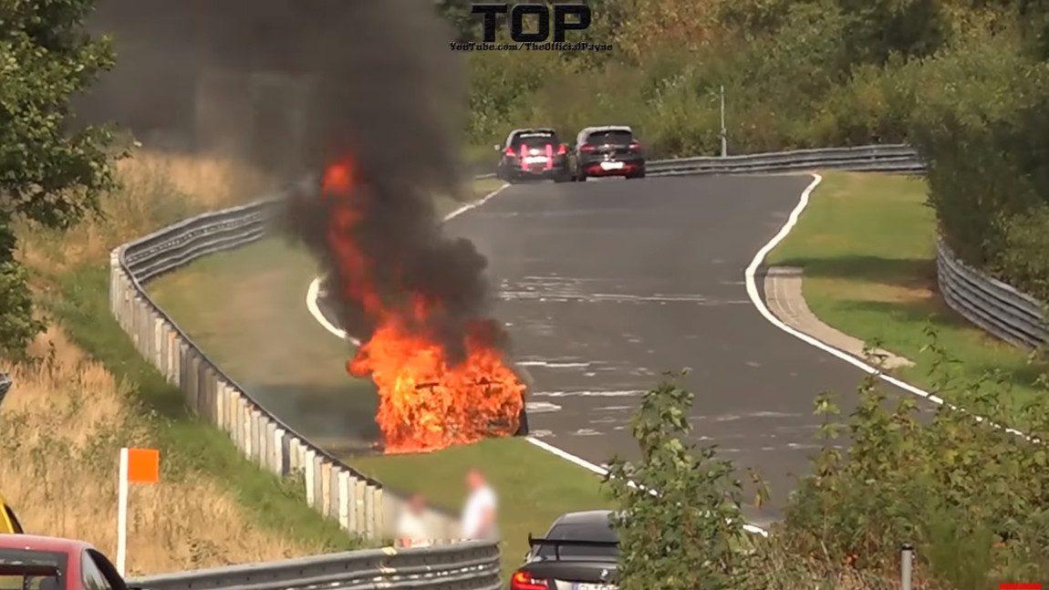 Dieser Porsche 911 GT3 hat die Nürburgring-Touristenfahrten nicht überlebt