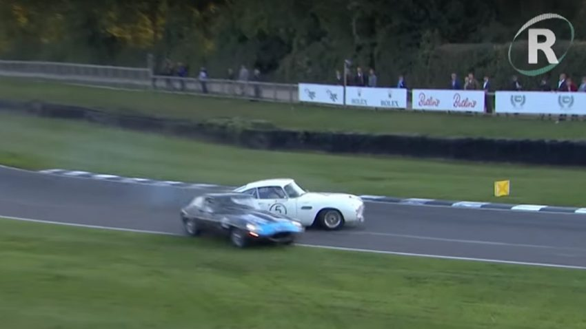 Die 5 besten Saves vom Goodwood Revival 2018