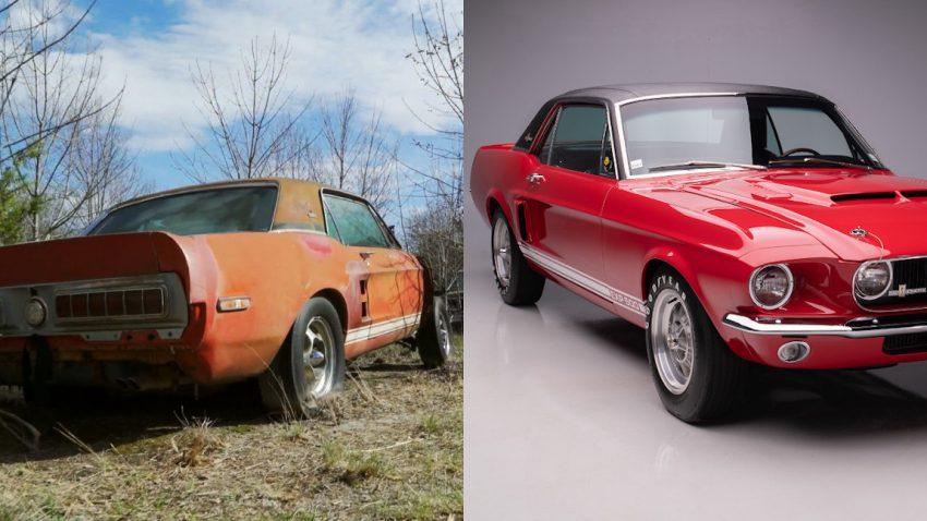 """Die wundersame Wiederauferstehung des """"verschollenen"""" Shelby GT500-Prototyps"""