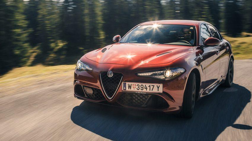 Alfa Romeo Giulia Quadrifoglio Verde: Tschuuls
