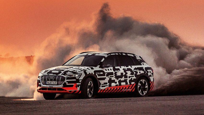 So war die 1. Ausfahrt mit dem Audi e-tron