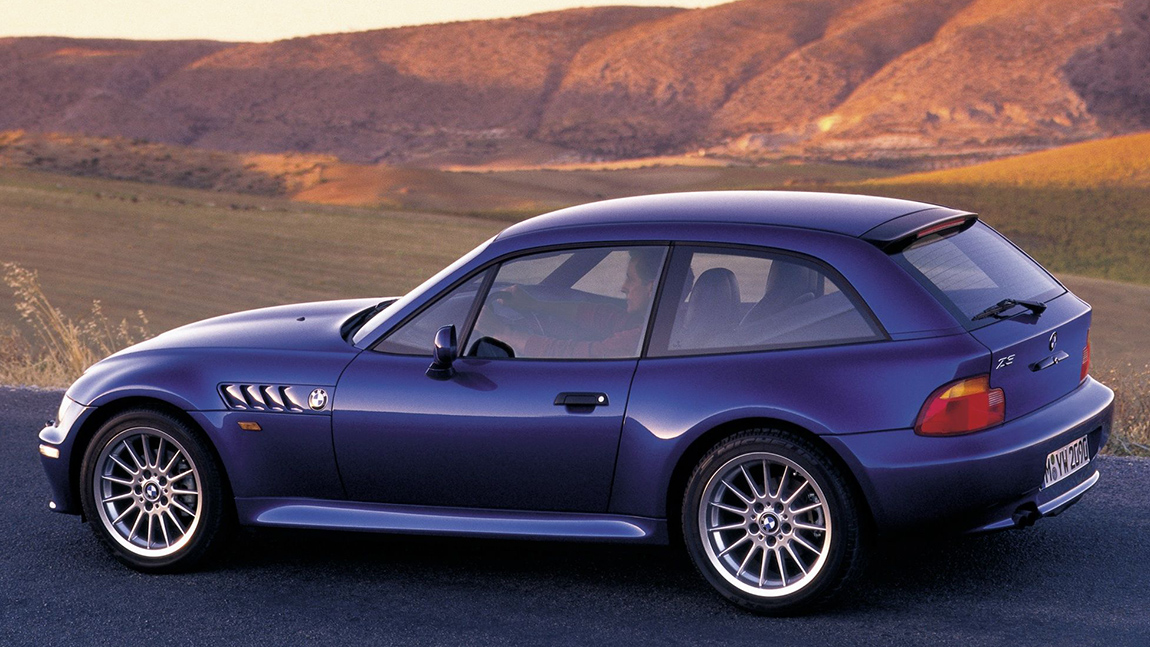 BMW Z3 Coupe Kultautos der 1990er die kultigsten autos der 90er