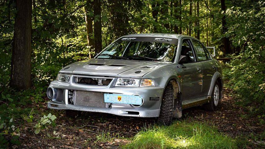 Mitsubishi Evo 6 Solberg