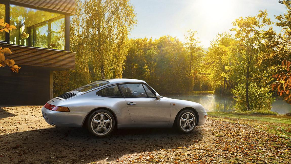 Porsche 911 Typ 993 Kultautos der 1990er die kultigsten autos der 90er