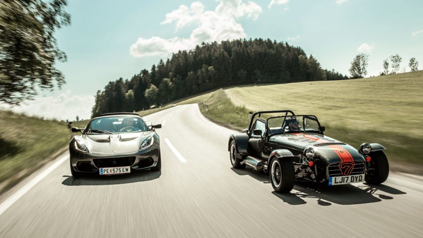 Lotus Elise vs. Caterham Seven
