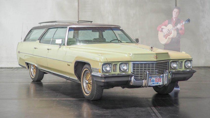 Elvis' Cadillac de Ville Estate Wagon wird in Salzburg versteigert