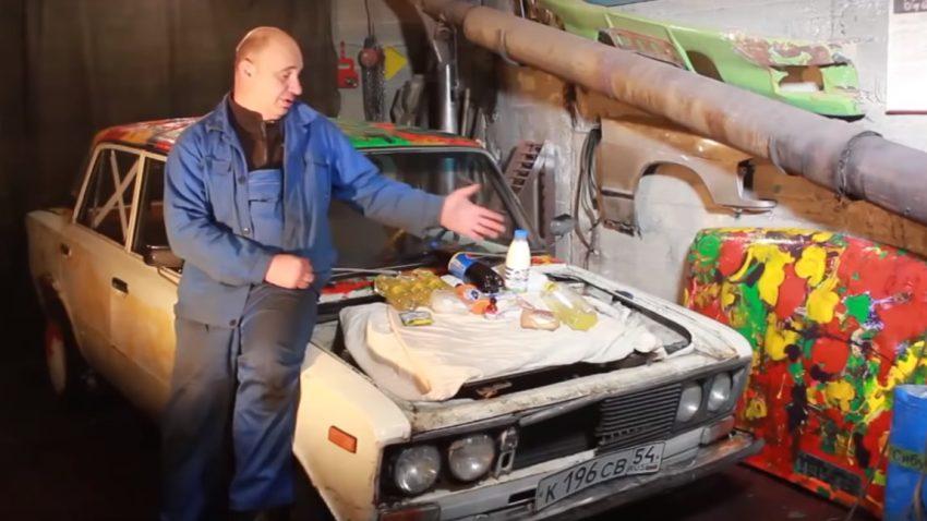 Wie man einen Lada-Motor mit Lebensmitteln tötet