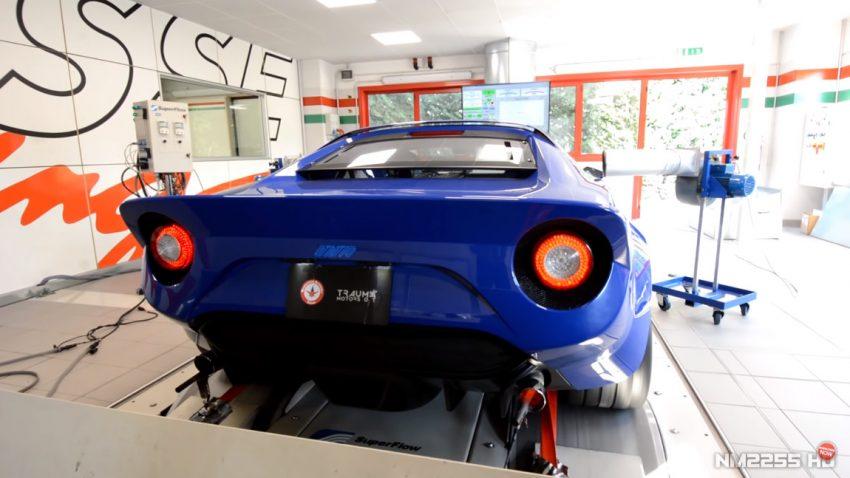 So klingt der neue Lancia Stratos mit Ferrari-V8