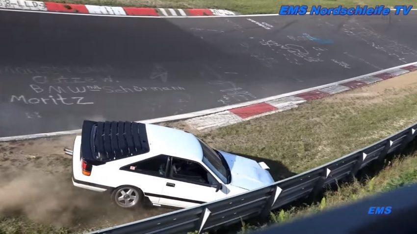 Nürburgring-Touristenfahrten: Fahrfehler wird Nissan Silvia zum Verhängnis