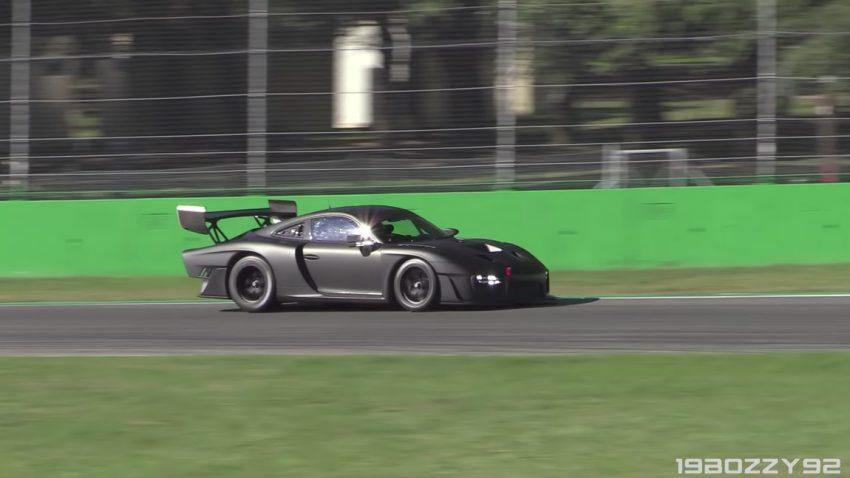 Neuer Porsche 935 in Monza gesichtet