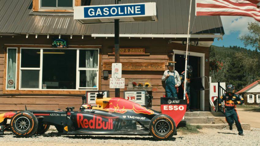 Ein Formel 1-Bolide ist das perfekte Auto für einen USA-Roadtrip