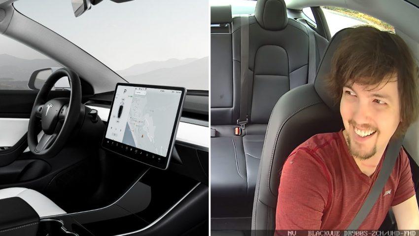 """Polizist stoppt Tesla Model 3 wegen """"Computer"""" am Armaturenbrett"""