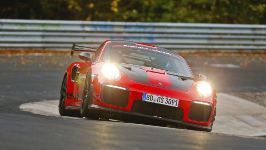 6:40,3 Minuten: Neuer Nürburgring-Rekord für den Porsche 911 GT2 RS MR