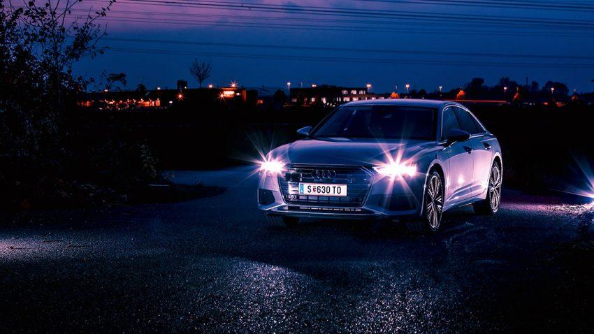 Audi A6 50 TDI quattro: Es werde Licht