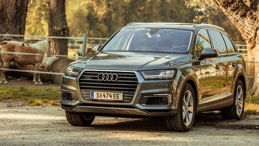 Audi Q7 e-tron quattro: Milchmädchen rechnet