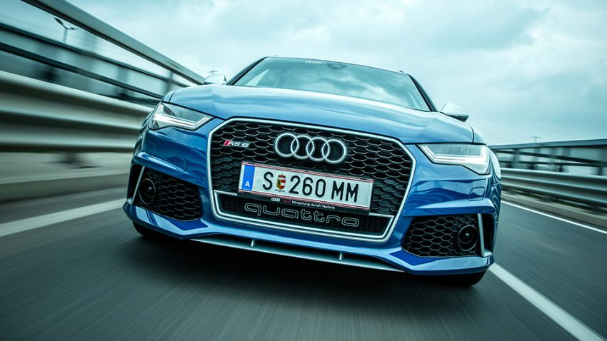 Audi RS6 Avant Performance: Original Ingolstädter Gnackwatschn