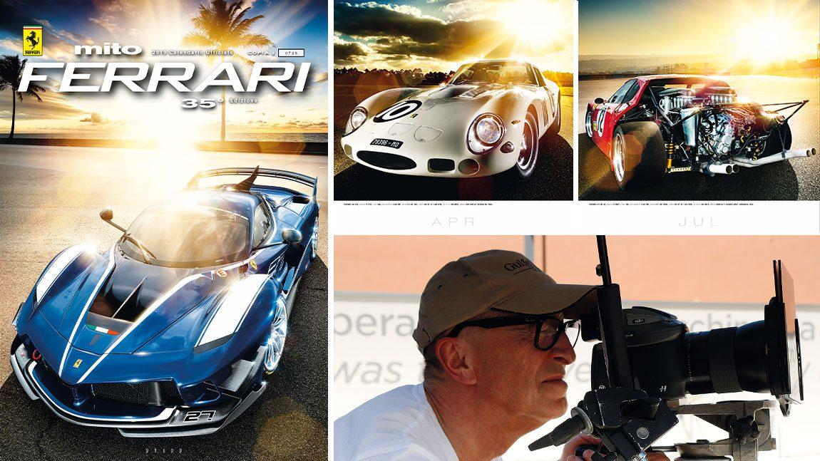 Günther Raupp und sein Ferrari-Kalender