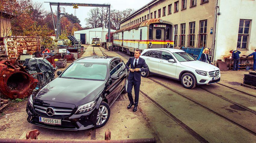SUV oder Kombi? Mercedes C 180 d T-Modell gegen Mercedes GLC 220 d