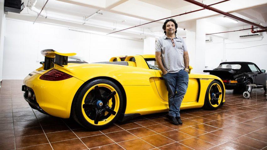 Die Porsche-Sammlung von Yousef Fittiani