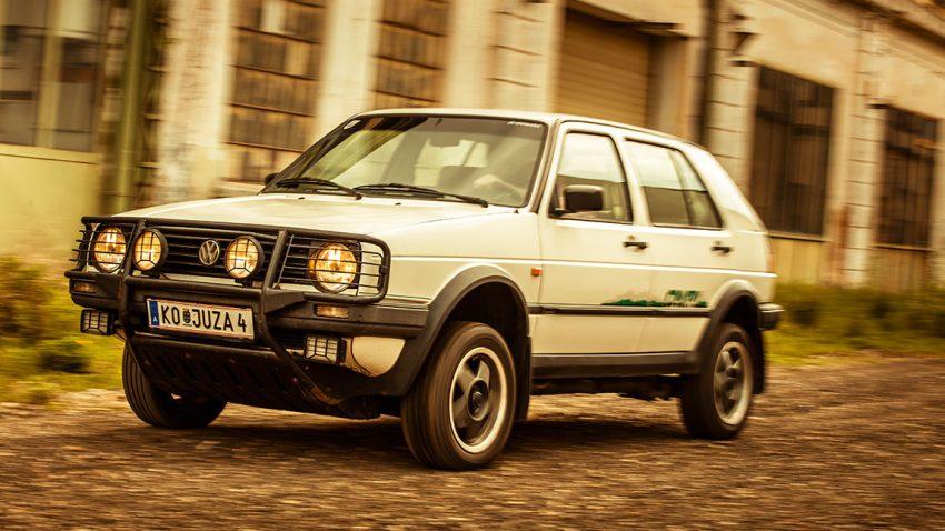 VW Golf Country: Der Berg-und-Tal-Golf