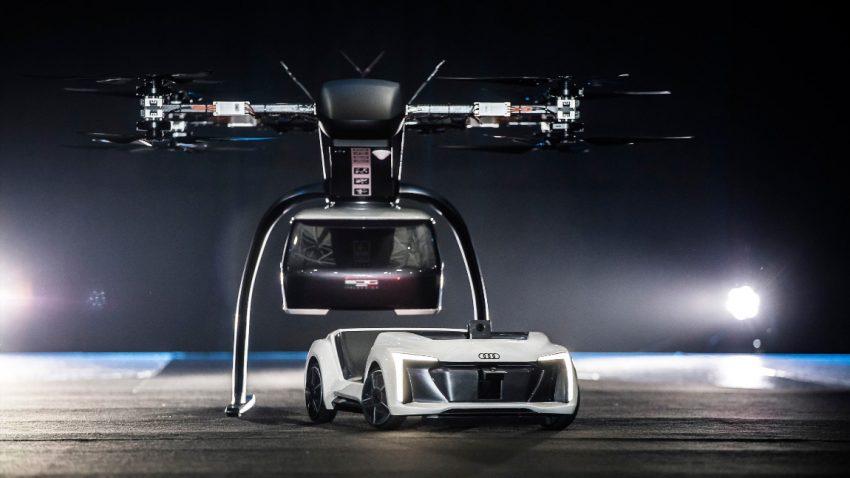 "Fliegender Audi präsentiert: ""Flugtaxis werden kommen"""