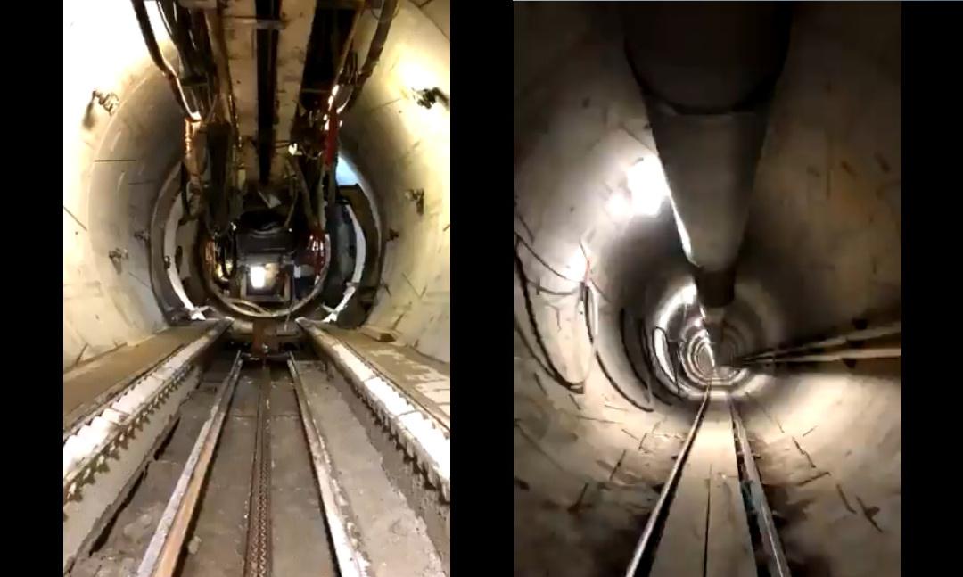 """""""Verstörend lang"""": Das ist Elon Musks """"Boring Company""""-Tunnel unter Los Angeles"""