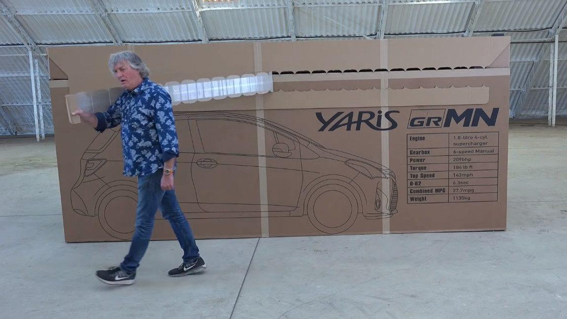 ASMR-Video für Auto-Fans: James May unboxt einen Yaris