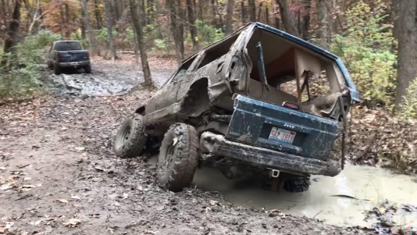 Wie man einen Jeep bricht
