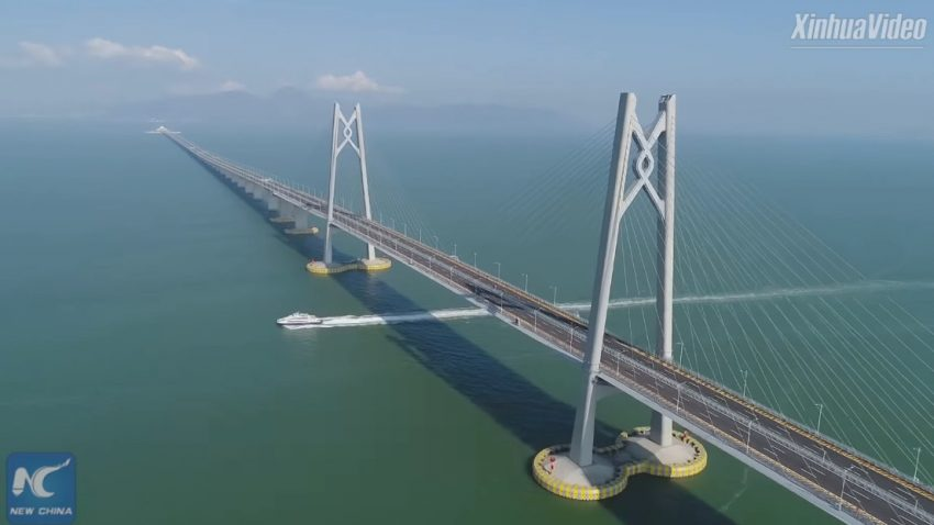 55 Kilometer: Das ist die längste Überwasser-Brücke der Welt