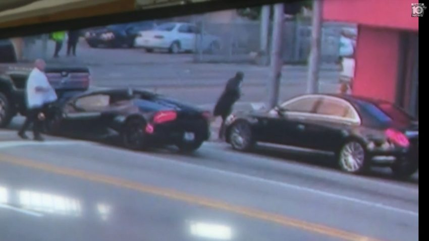 Lamborghini-Fahrer rammt Pick-up - und flüchtet in Mercedes
