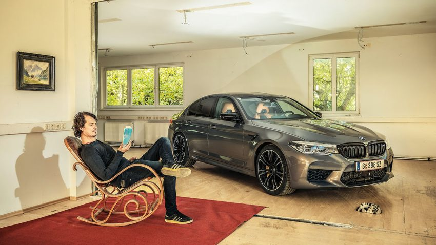 BMW M5 Competition: Und das Sparschwein, das hat Räder