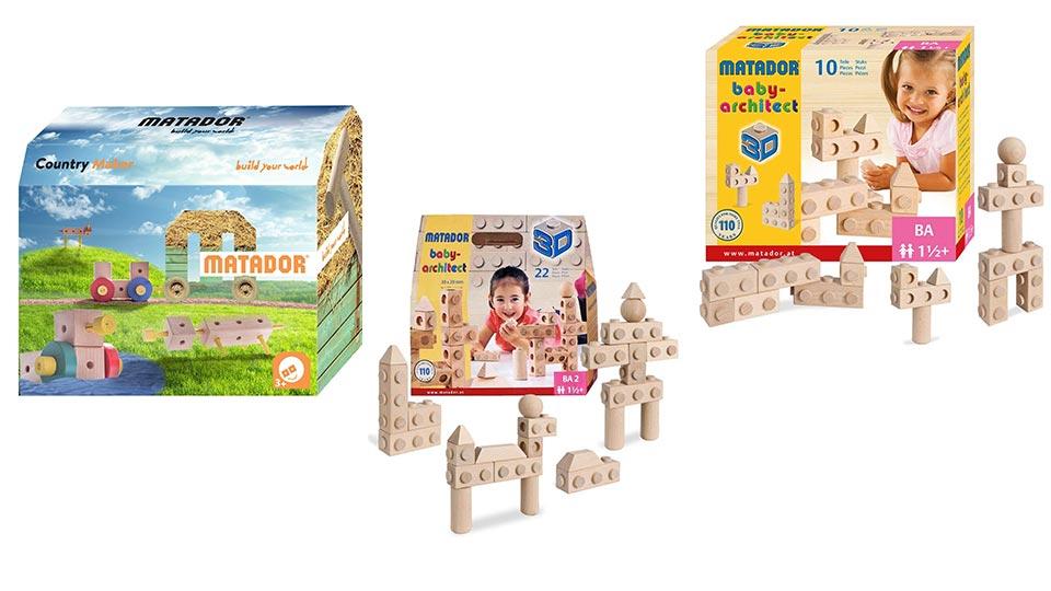 Die besten Baukästen von Matador für Kinder ab dem ersten Lebensjahr