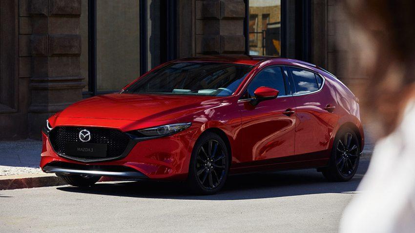 Der neue Mazda 3, oder von der Kunst, eine Faust zu machen