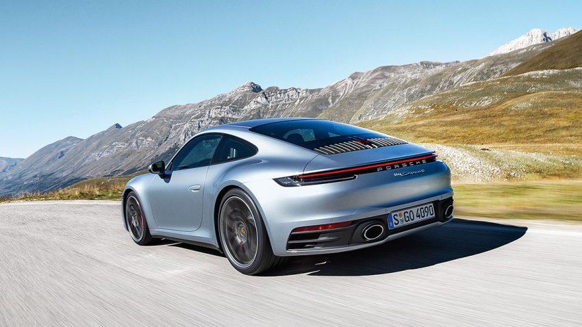 Porsche 911 Carrera S/4S: Piano forte