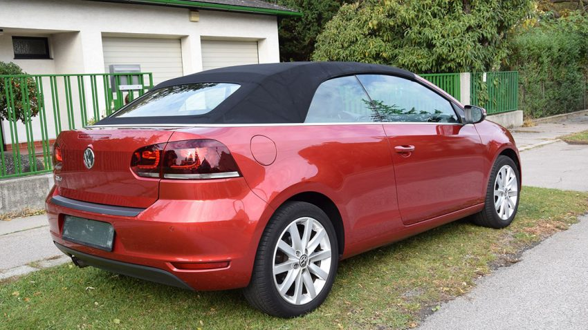 VW Golf Cabrio 1,4 TSI, 160 PS, DSG7