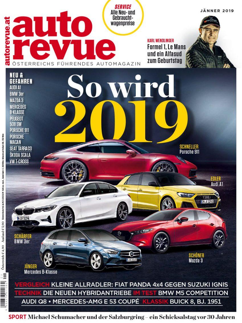 Autorevue Magazin: Ausgabe 1/2019