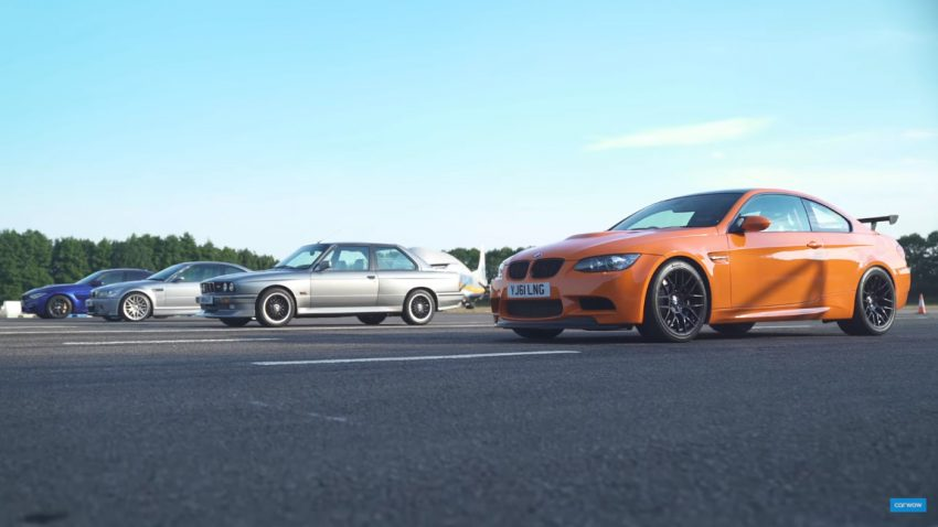 BMW M3: Drag Race der Generationen