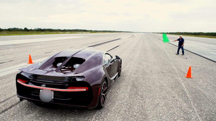 420 km/h: Top Speed im Bugatti Chiron