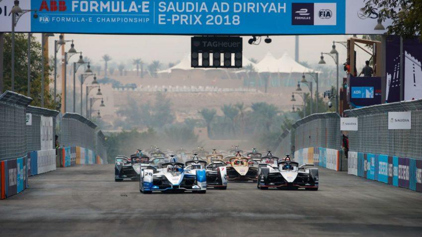 Formel E 2018/2019: Das war der Saison-Auftakt in Saudi-Arabien!