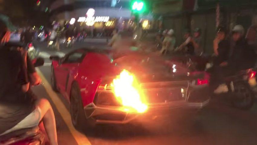 Wie dieser Aventador zum FLAMMborghini wird