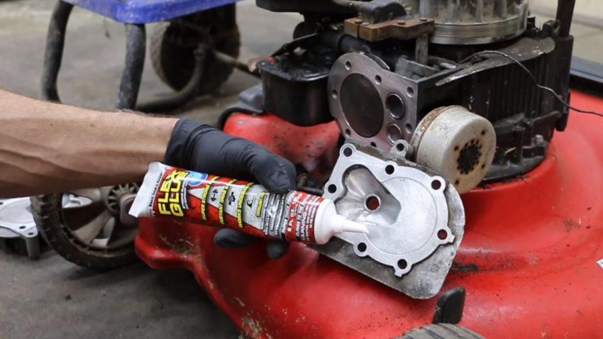 Was passiert, wenn man einen Motor zusammenklebt?